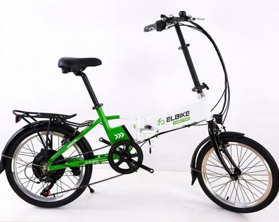 электрический велосипед Elbike Gangstar